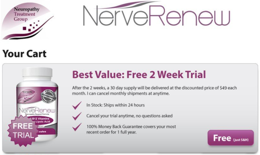 Nerve Renew Reviews - What Why Does It Provide Neuropathy Symptoms Relief?